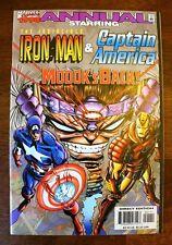MARVEL 1998 ANNUAL THE INVINCIBLE IRON MAN & CAPTAIN AMERICA MODOK! Books-Old