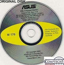 ASUS GENUINE VINTAGE ORIGINAL DISK FOR A7V133 Motherboard Drivers Disk M176