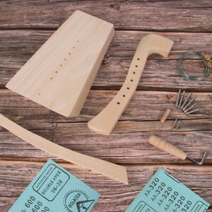 DIY Harp Kit 7 String Lyre Harp Make You Own Home Decor with All Accessories