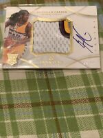 2012-13 Immaculate Red Kenneth Faried RPA RC 4-Color GU Patch AUTO /75