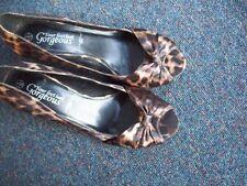 New Look Peep Toe Stiletto Animal Print Heels for Women