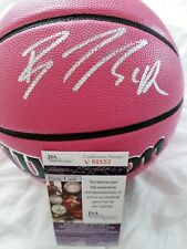 Brittney Griner (Mercury) Signed Pink Wilson NCAA Basketball in person JSA CERT