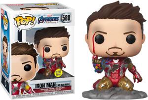 Avengers 4: Endgame - I Am Iron Man Glow Pop! Deluxe #580 - NEW