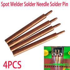 4pcs Spot Welding Pin Alumina copper pulse welding needle for Pulse spot welding