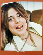 SUZI QUATRO POSTER PAGE . CAN THE CAN . DEVIL GATE DRIVE . SC5B