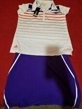 Ladies adidas golf Shirt amd Skort