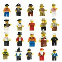 Lot of 20Pcs Random New Figures Men People Minifigs Assemble Toys Baby surprise