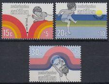 Niederl. Antillen 1972 ** Mi.251/53 Kinderspiele Children's Games [st0698]
