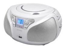 Boombox mit CD-Player, USB, MP3, Radio und Aux Denver TCU-206 WHITE