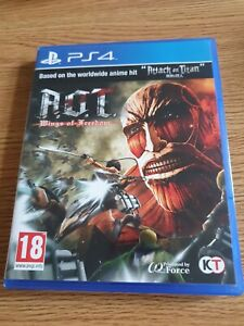Attack on Titan Wings of Freedom (Playstation 4, 2021)
