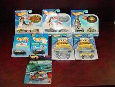 8pc Lot MOC 91-03 Hot Wheels NASCAR ToysRUs Taxi Rods Croft Yu-Gi-Oh Shaman King