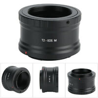 Telescope Lens T2 Adapter for Canon Camera EOS M Adapter Ring M42*0.75 SN