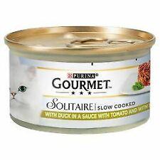 Gourmet Solitaire Slow Cooked with Duck & Garden Veg Sauce - 85g - 565524