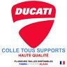 Stickers autocollant DUCATI rouge moto logo plusieurs tailles, super prix