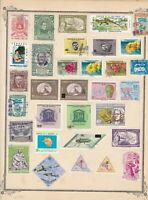 salvador stamps page ref 17188
