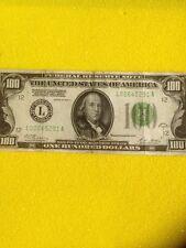 1928 A $100 Dollars Bill