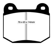 DP41537R EBC Yellowstuff Rear Brake Pads for MASERATI MG NISSAN ROVER   SUBARU