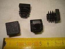 8 embouts carrés à insérer 16 mm à ailettes (réf C1) chaise, meuble...