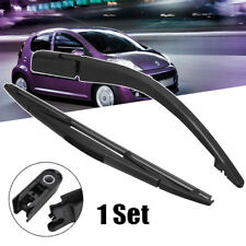 WINDSCREEN REAR WIPER BLADE WITH ARM FOR PEUGEOT 107 CITROEN C1 TOYOTA AYGO
