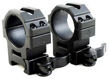 UTG 30mm SCOPE RINGS QD LEVER LOCK MEDIUM PROFILE WEAVER PICATINNY MOUNT MED NEW
