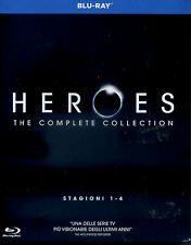 Heroes - stagioni 01-04 (17 Blu-ray) Universal Pictures