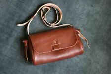 Handmade Vegetable tanned leather bag