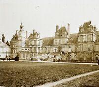 Château Da Fontainebleau Francia Placca L10 Stereo Vintage Positivo 6x13cm