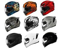 2018 Icon Airflite Full Face DOT Motorcycle Helmet - Pick Size and Graphic Color