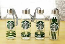 Large 300ML New Starbucks Water Bottle Glass Coffee Mug Outdoor Drinking Cup