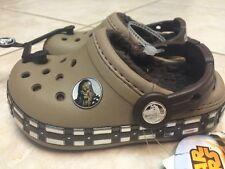 Crocs Kids Crocband™ Star Wars™ Chewbacca™ Fuzz Lined Clog  Children 8/9 NWT $40
