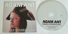 Adam Ant / The Ants  BlueBlack Hussar RARE NUMBERED PROMO IN SLIP CASE