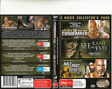 The Condemned-2007-Steve Austin/See No Evil/Half Past Dead 2-[3 Disc]3 Movie-DVD