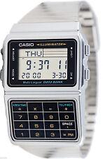 Reloj Nuevo Casio DBC-611-1D Databank Calculadora de 8 Dígitos 5 Alarma