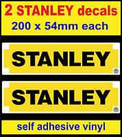 y.2 STANLEY tools stickers motorsport gp toolbox workshop decals car van truck