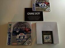 GAME BOY COLOR  F1 CHAMPIONSHIP  SEASON 2000