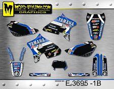 Yamaha WR 200 1992 up to 1999 graphics decals kit Moto StyleMX