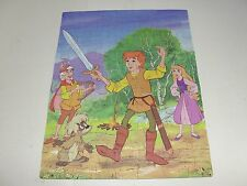 Vintage Walt Disney Black Cauldron Puzzle COMPLETE Golden 1985 4627 63 Piece HTF