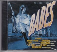 Babes 1 (1996) Bow Wow Wow, Skunk Anansie, Honeybee, Pj Harvey, Bif Naked.. [CD]