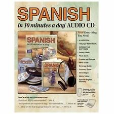 10 Minutes a Day: Spanish in 10 Minutes a Day® by Kristine K. Kershul (2004, CD)
