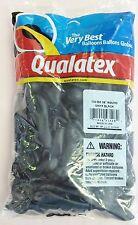 "Qualatex 5"" Round Black Balloons ~ 100 ct."