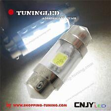 1 AMPOULE BOITE A GANT AUTO LED SMD S HP-LED C3W 31~32MM - éclairage 180 °