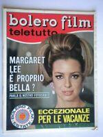 Bolero 1056 Margaret Lee Masiero Morandi Milo Dunaway Beatles Bramieri Del Frate
