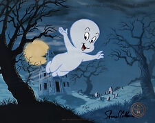 CASPER THE FRIENDLY GHOST *RARE* HARVEY COMICS Ltd Ed CEL Signed SHAMUS CULHANE