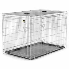 Cage pour Chiens Caisse Box de Transport Cage Animaux Chiots Pliable Métal XXL