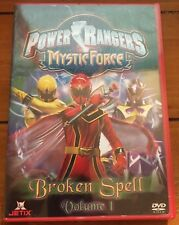 Power Rangers Mystic Force: Broken Spell - Vol. 1 (DVD, 2006, Jetix) New/Sealed