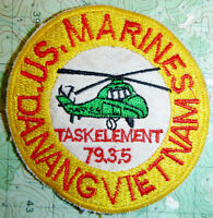 PATCH - US TASK FORCE SHUFLY - DA NANG 1961 - 1964 - USMC - Vietnam War - 2037