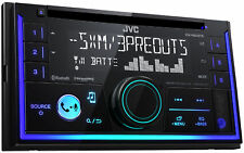 JVC KWR930BTS Double DIN Bluetooth USB Sirius XM Car Stereo Receiver CD Player