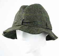 Kevin & Howlin Ltd Donegal Tweed Walking Hat From Ireland St Patrick Size 7