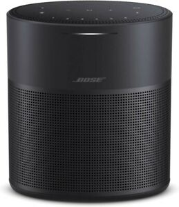 Bose Home Speaker 300 Alexa 360 Degree Bass Black Silver Slim Voice controlled
