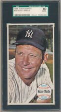 1964 Topps Giants #25 Mickey Mantle SGC 80 EX/NM Z27881  - SGC ExNM (6, 80)
